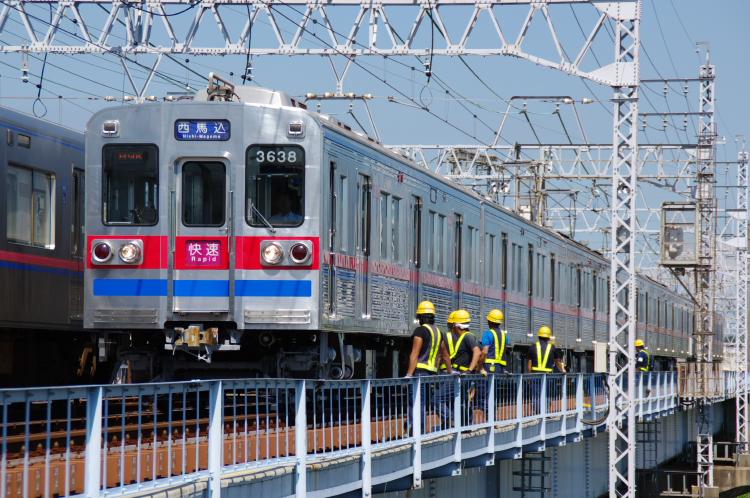 2012年8月24日 京成押上線 8638 高砂