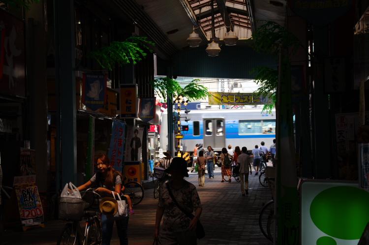 2012年8月24日 京成押上線 アーケード