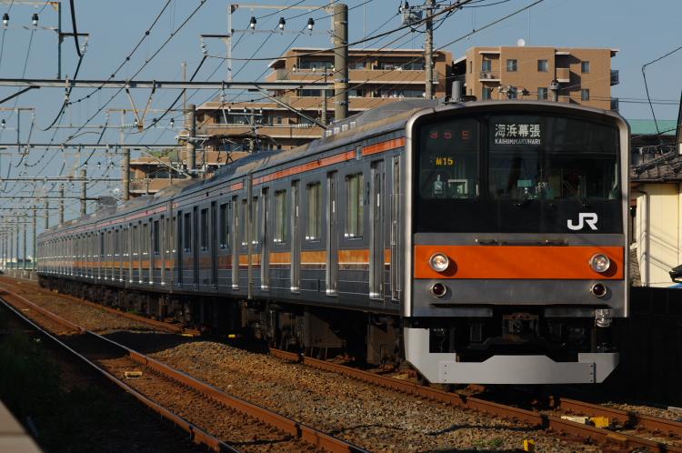 2012年8月24日 武蔵野線 M15