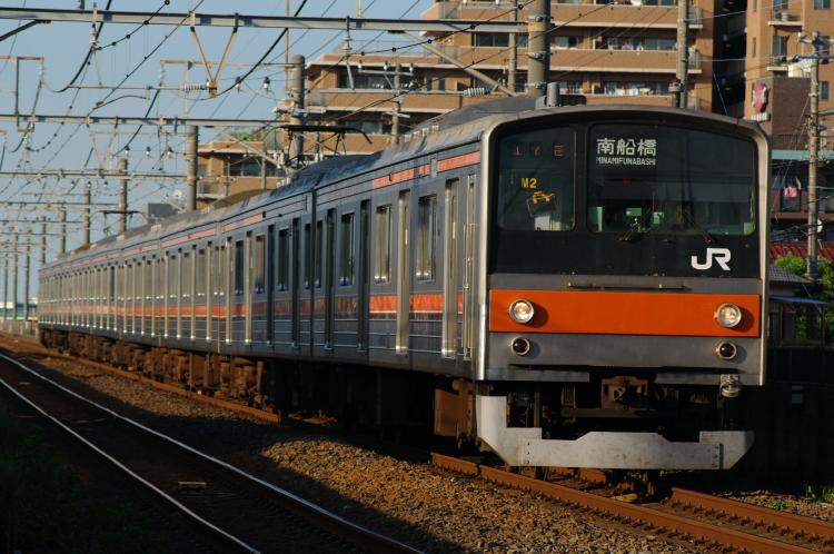2012年8月24日 武蔵野線 M2