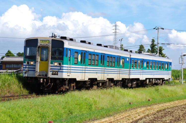2012年8月25日 内房線 久留里線 キハ38-3+キハ37-1003