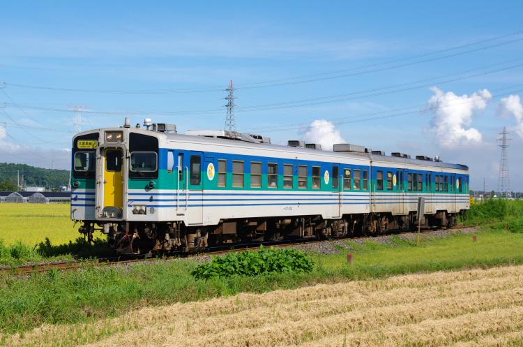 2012年8月25日 内房線 久留里線 キハ37-1002+キハ38-1