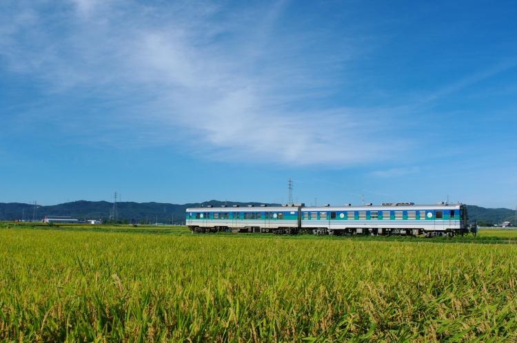 2012年8月25日 内房線 久留里線 キハ37-1003+キハ38-3