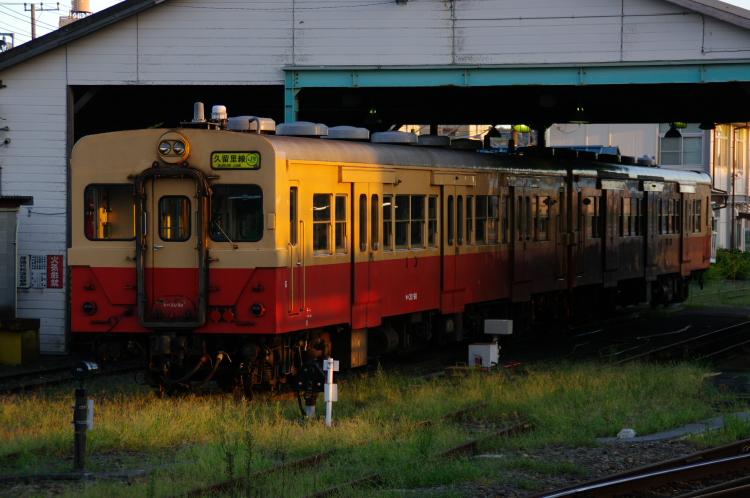 2012年8月25日 内房線 久留里線 キハ30