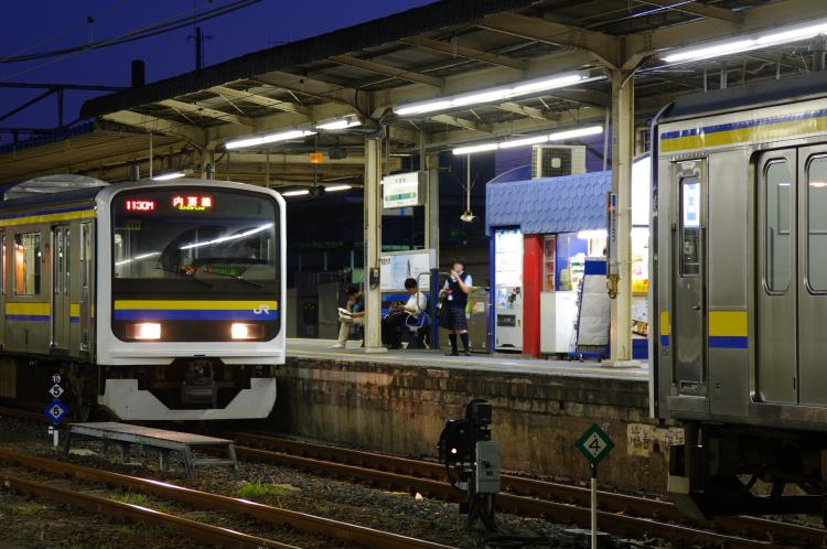 2012年8月25日 内房線 久留里線 併合
