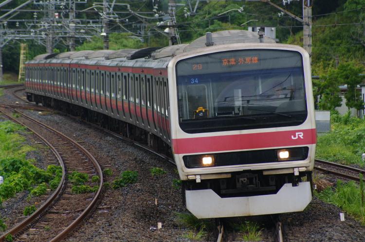 2012年9月02日 雨の大網駅先