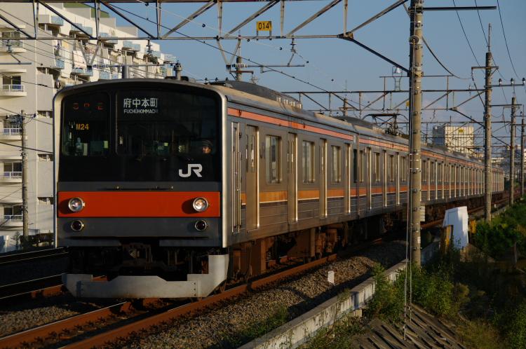 2012年10月6日 武蔵野線 016