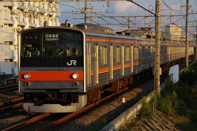 2012年10月6日 武蔵野線 003