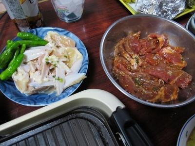 ヤゲン軟骨と豚焼肉用