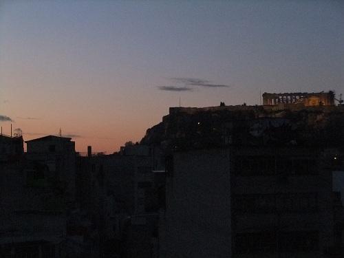 アテネの夜明け