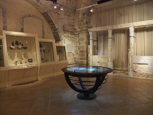 モネムヴァシアの博物館