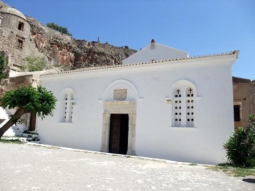 モネムヴァシア_クリスト・エルコメノス教会