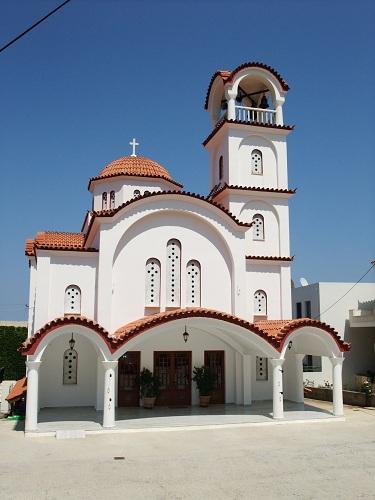 モネムヴァシア_新市街の教会