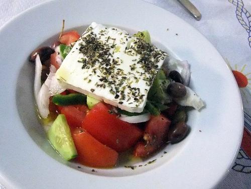 エラフォニソス_「スピロス&スピリドゥラ」夕食  (1)