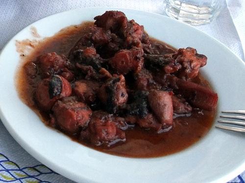エラフォニソス_「スピロス&スピリドゥラ」昼食 (1)