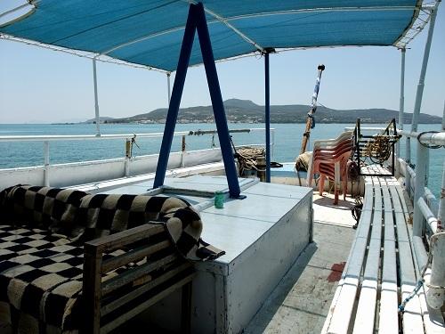 プンダからエラフォニソスへの船 (2)