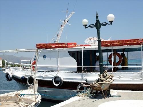 プンダからエラフォニソスへの船 (1)