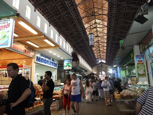 ハニアの市場