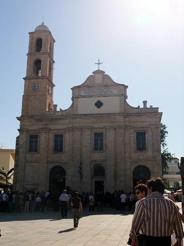 ハニアの聖堂「トリマルティリ」