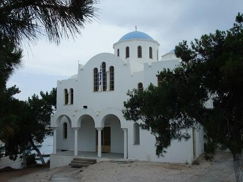スペツェス_ 美しい青屋根の教会