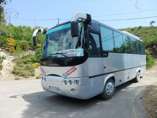 スペツェス_ヴレロス行きのバス