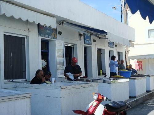 スペツェス_魚市場