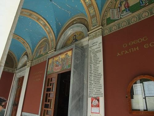 アテネ_街中の教会 (2)