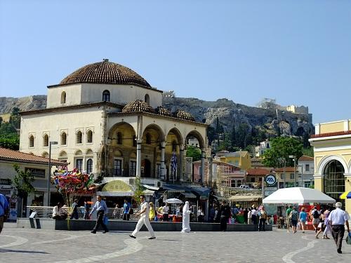 アテネ_モナスティラキ広場