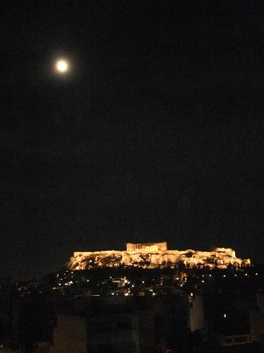 アテネ_夜のアクロポリス (1)
