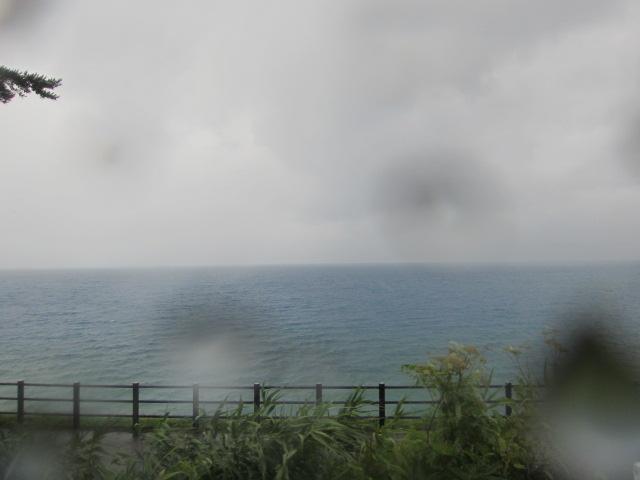 雨の田沢湖 たつこ抜き