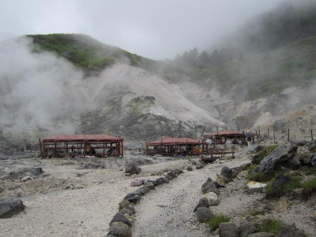 岩盤浴の場 玉川温泉