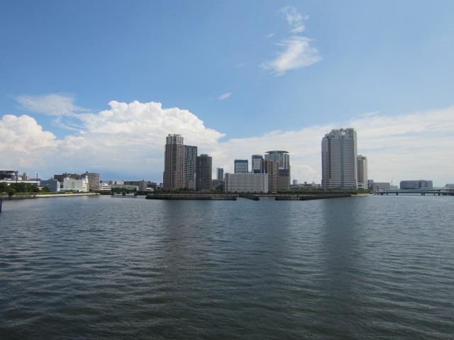 相生橋から豊洲方面