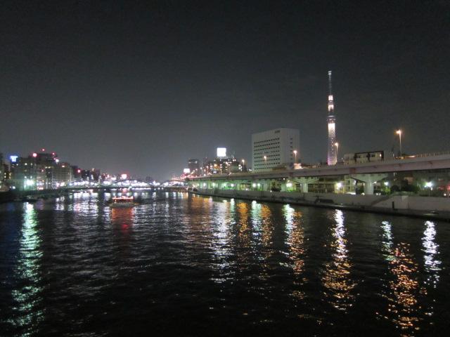 蔵前橋から東京スカイツリー