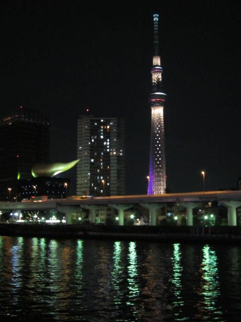 アサヒのアレと東京スカイツリー