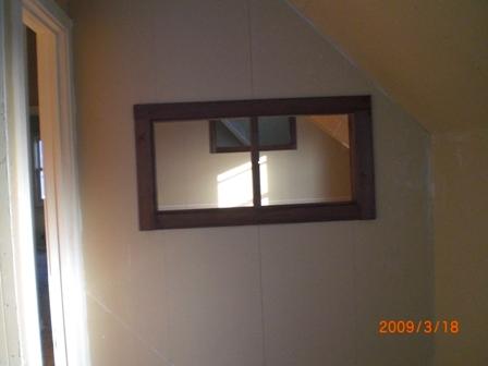 主寝室小窓
