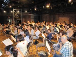 2012/7/16フルート仲間の集い2012練習風景