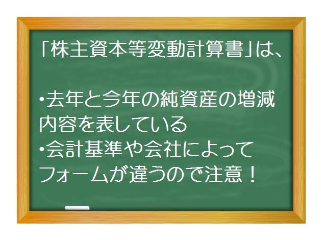 会計(基礎編)_株主資本等変動計算書を斬る