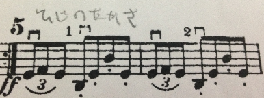 マーラー1番2楽章