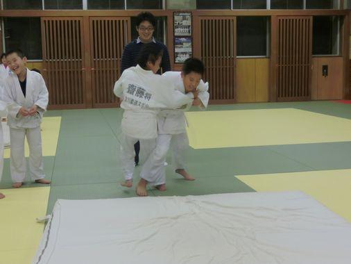 23日の練習 3