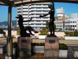 JR富士駅 黎明と飛躍