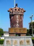 JR唐津駅 唐津曳山像
