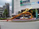 JR茂原駅 名称不明モニュメント