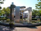 JR新前橋駅 噴水彫刻