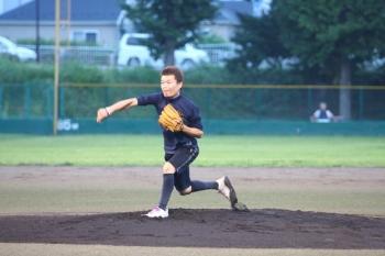 130727野球02-大井先発安部選手