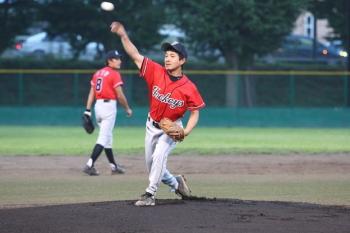 130727野球01-川崎先発稲子選手