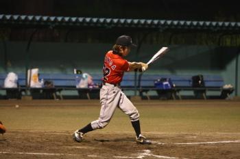 130727野球08-本田選手タイムリーヒット