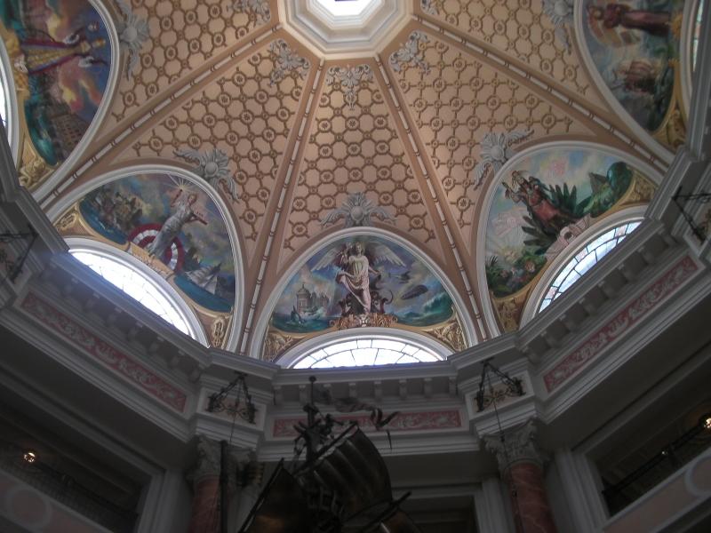 ミラコスタロビー天井