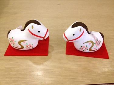 春駒(土鈴) 各525円
