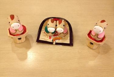 三宝 各525円、 めおと午 840円