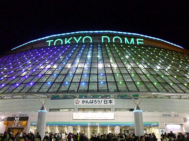 3年ぶりの東京ドーム公演です